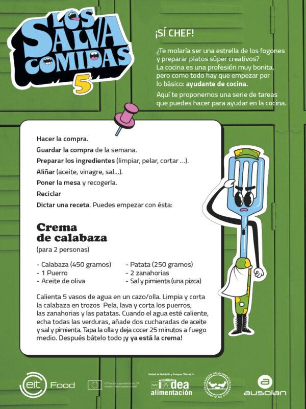 Ficha 5 - Los Salvacomidas